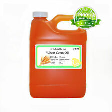 Wheat Germ OIL Unrefined100%Pure Cold Pressed Organic By Dr.Adorable 32oz/1Quart