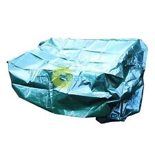 Quality Green Plastic Waterproof Garden Bench Cover Seat Outdoor Rain 1.6m