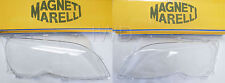 OEM Magneti Marelli BMW E46 Headlight Lens Plastic Cover Set (Left & Right)