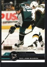 MIKE RICCI 2001/02 PACIFIC #343 PREMIERE DATE SHARKS SP #09/45