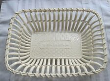 Vintage/Antique L S & S (L. Strauss & Sons/Carlsbad) Porcelain Bread Basket