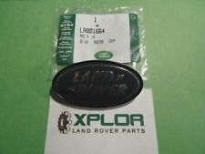 LAND ROVER B PILLAR DEFENDER + FREELANDER GREEN/GOLD OVAL (PART NUMBER:LR001664)