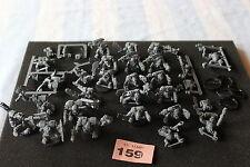 Warhammer 40k Ork Boyz Mob and Nobz Squad Army Assault on Black Reach GW OOP