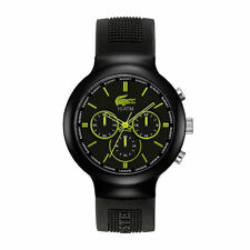 Men's Silicone/Rubber Band Wristwatches with Chronograph