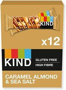 KIND Caramel Almond & Sea Salt Bars 40g x 12