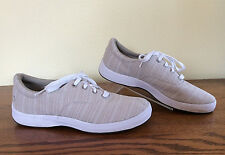 Women's GRASSHOPPERS Ortholite~Sz 7M~Taupe Sneakers Comfort Shoes~Terrific!