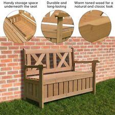 Panca da giardino Cartwheel 2 posti in legno massello-all/' aperto ZLY-7128