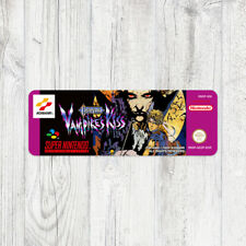 Étiquette SNES / Sticker : Castlevania Vampire's Kiss