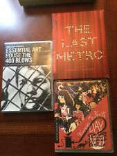 Truffaut Criterion Collection - Last Metro, Day for Night, 400 Blows