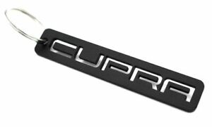 CUPRA Schlüsselanhänger Schwarz pulverbeschichtet - Seat Leon 5F 1P ST FR Ateca