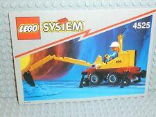 LEGO® Town Classic Bauanleitung 4525 Road and Rail repair ungelocht BA Anleitung