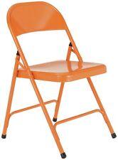 Habitat Macadam Metal Folding Chair - Orange