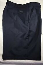 IZOD Mens Golf Shorts Size 38 Classic Flat Front Navy