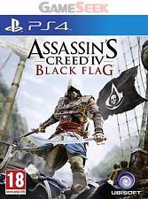 Assassin's Creed IV (4) Black Flag PS4-Playstation PS4 nagelneu versandkostenfrei