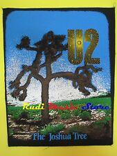 TOPPA patch U2 The joshua tree 37x32 cm (*)cd dvd lp mc vhs live promo