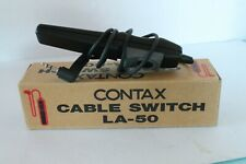 CONTAX CABLE SWITCH LA-50 FOR CONTAX N1 35MM FILM CAMERA