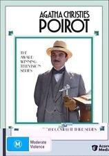 Agatha Christie: Poirot: Series 3 (DVD, 4-Disc Set) Box Set  Very Good Condition