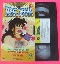 VHS film DRAGON BALL COLLECTION 3 Una coppia di cattivi Attenti (F107) no dvd