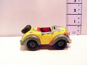 Vintage Corgi Noddy's Car Die Cast Yellow Red & Black Ideal Restoration
