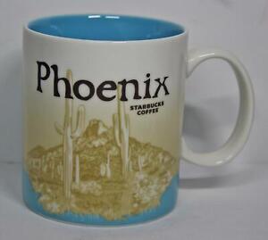 2011 Starbucks Coffee Mug Phoenix Arizona City Collector Series