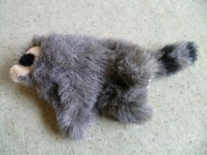 Vintage Folkmanis Hand Puppet Baby Racoon