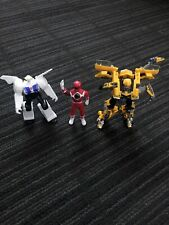 Lot of Transformers & Power Rangers McDonalds Hasbro Bumblebee Strong Arm Red