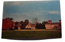 Tom Lee Home View Stratford Hall 1725 ArtVue Virginia Kolorvue Vintage Postcard
