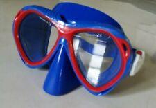 Body Glove Scuba Diving Snorkeling Mask Tempered Glass Blue Frame