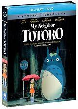 Studio Ghibli My Neighbor Totoro Blu-ray DVD Dakota and Elle Fanning Lea Salonga