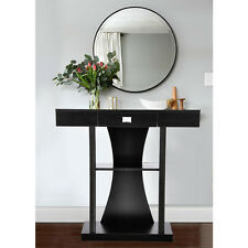 Art Deco Style Designer Console Table Mirror Side Table Hallway Desk With Drawer