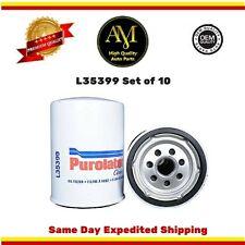 L35399 Oil Filter Set of 10  Chevrolet Silverado 01-16 3500 GMC Sierra  6.6L
