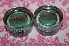 LOT OF 2 Maybelline Color Tattoo  EYE SHADOW #50 EDGY EMERALD