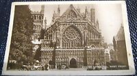 England Exeter Cathedral West Front - posted 1933