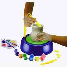 Creative Craft Discovery Kids Motorized Ceramic Pottery Wheel Education Toy