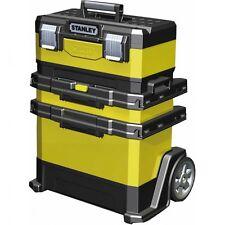 Rollende Werkstatt Metall-Kunststoff Stanley Werkzeug-Koffer Werkstattbox