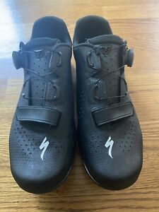 Used Specialized Torch2.0 Black Cycling Shoes Size 44