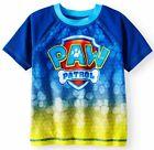 PAW PATROL UPF-50 Rash Guard Swim Top Shirt NWT Toddler's Size 2T 3T or 4T  24