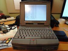 Vintage Texas Instruments TravelMate 4000M Color -  Intel DX4 75MHz Works DOS