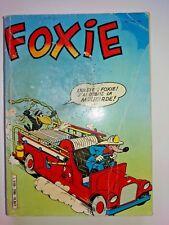 bd album relié recueil FOXIE n° 198.199.200  arédit 1982