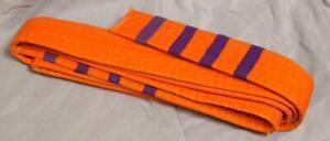 Vintage Orange Belt Karate Taekwondo Youth Size g30