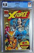 X-Force #1 2nd Printing Marvel 1991 CGC 9.8 NM/MT White Pages Comic R0050