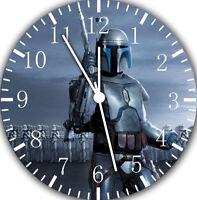 "Starwars wall Clock 10"" will be nice Gift and Room wall Decor E55"