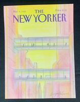 COVER ONLY ~ The New Yorker Magazine, March 4, 1985 ~ Eugene Mihaesco