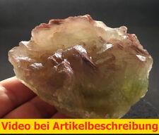6103 Fluorite Fluorit 8*8*4 cm Grube Hermine 1980 Wölsendorf Bavaria BRD  VIDEO