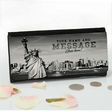 Personalised New York Statue Liberty Ladies Large Money Coin Purse Mum Gift T170