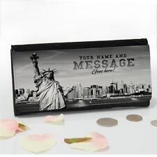 Personalizado de Nueva York Estatua Libertad Damas Grande dinero moneda monedero Mamá Regalo T170