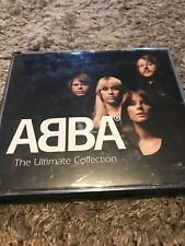 """CD x 4 ABBA """"The Ultimate Collection"""" READER'S DIGEST 9810925 /B91001BK FOUR CDs"""