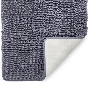 LuxUrux Bath mat-Extra-Soft Plush, Bath Shower Bathroom Rug, machine wash & Dry