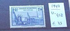 Francia      -  1940  -  Esposizione New York    1 val.  **  MNH
