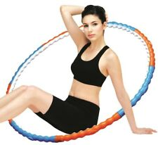 New Body Health 2.43lb 1.1kg Hula Hoop Weighted Yoga Exercise Fitness Diet